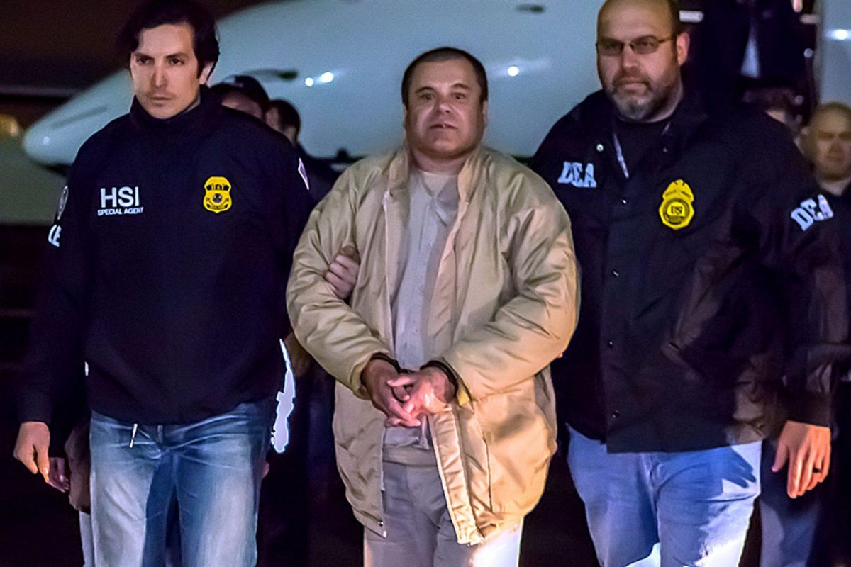 Mexican Drug Lord, El Chapo, Sentenced to Life Plus 30 Years in US Prison