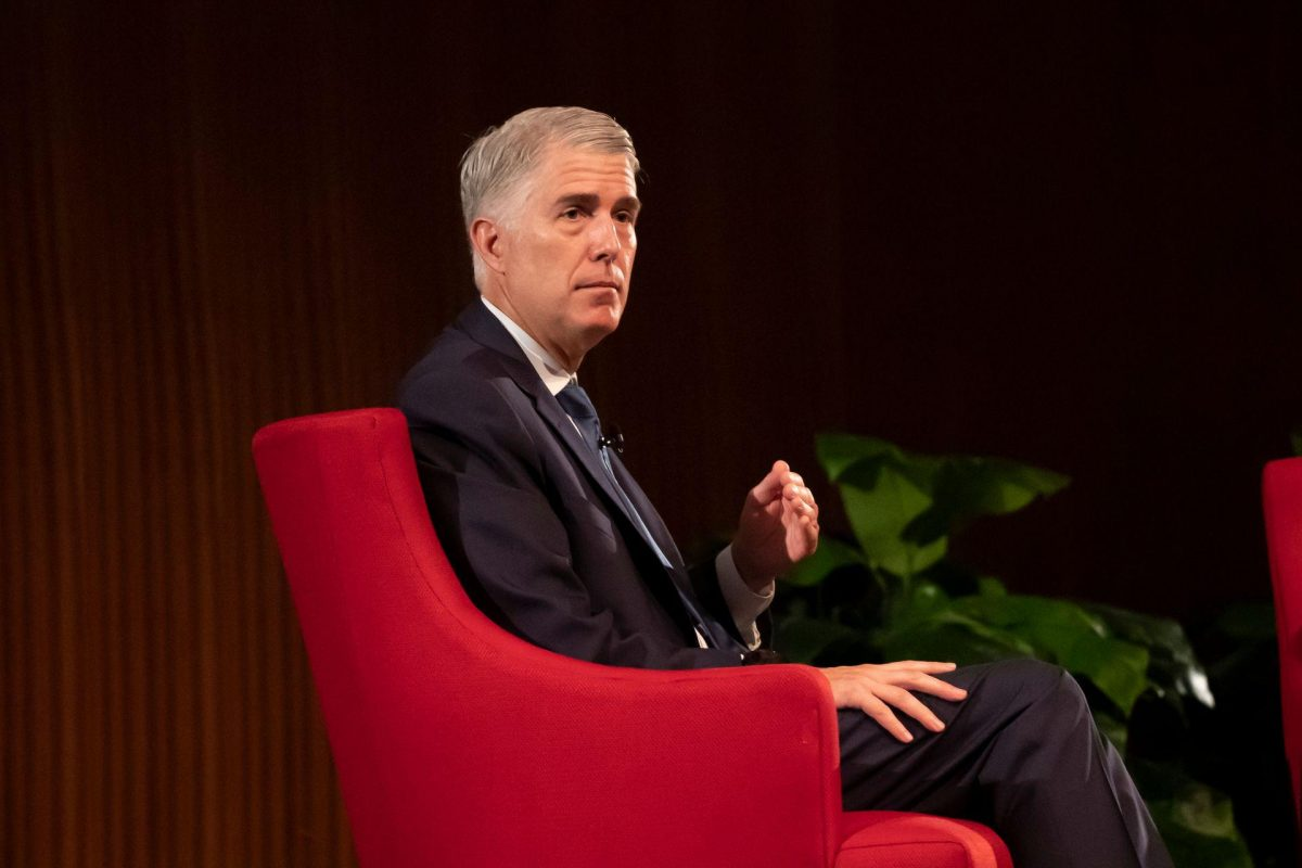 Justice Neil Gorsuch Speaks About Life on the Supreme Court in Austin