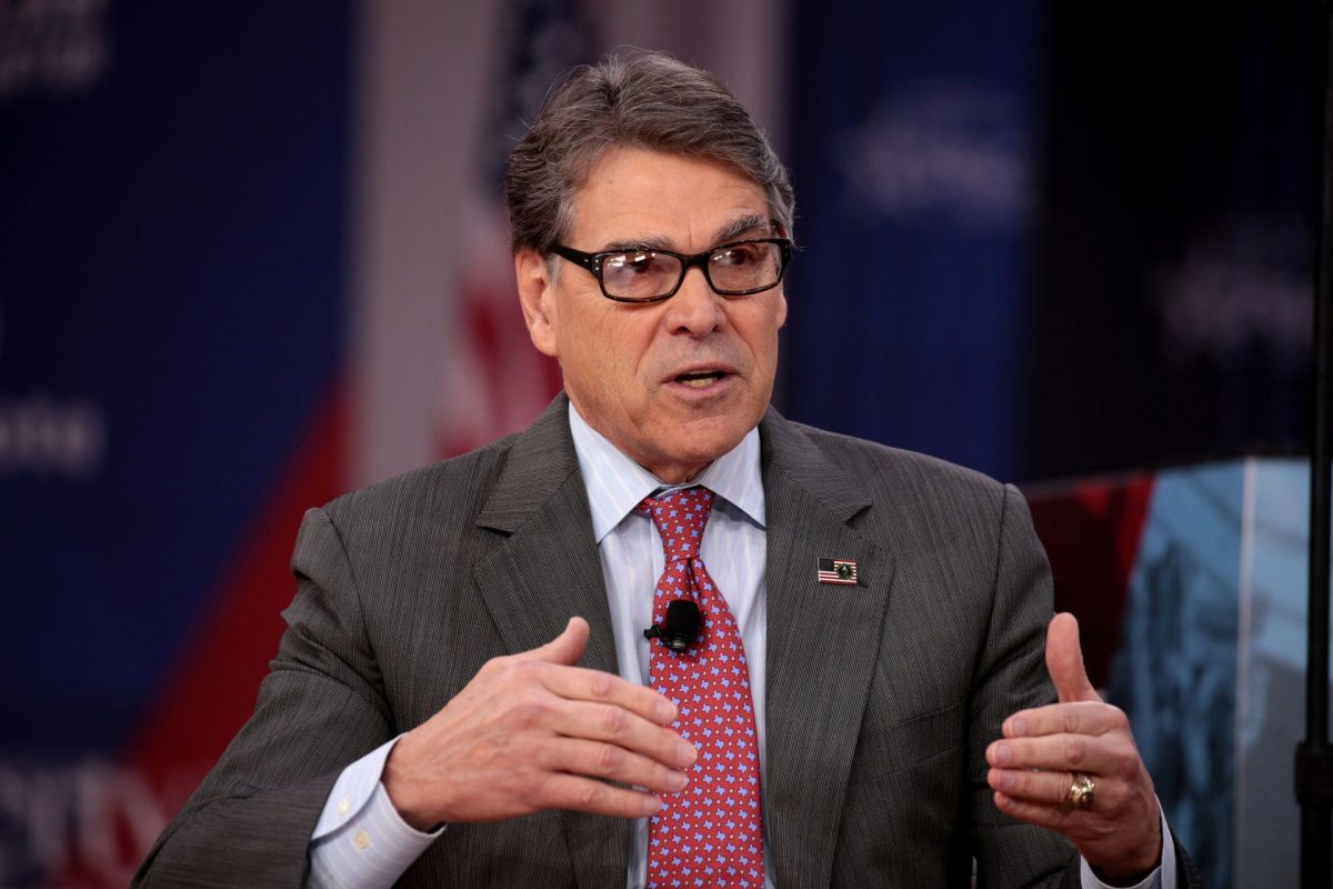 Rick Perry Resigns as Secretary of Energy