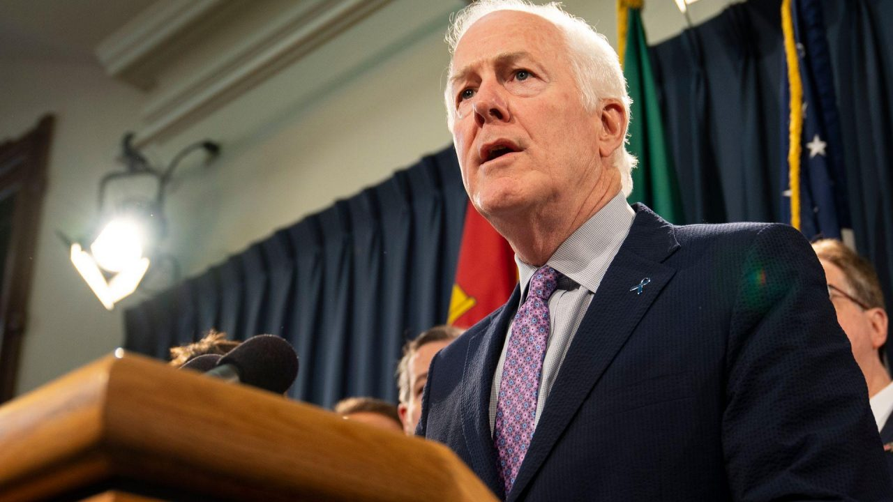 https://thetexan.news/wp-content/uploads/2019/10/Cornyn-Guns-1280x720.jpg