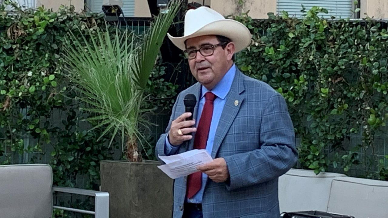 https://thetexan.news/wp-content/uploads/2019/10/Pete-Flores-Town-Hall-1280x720.jpg