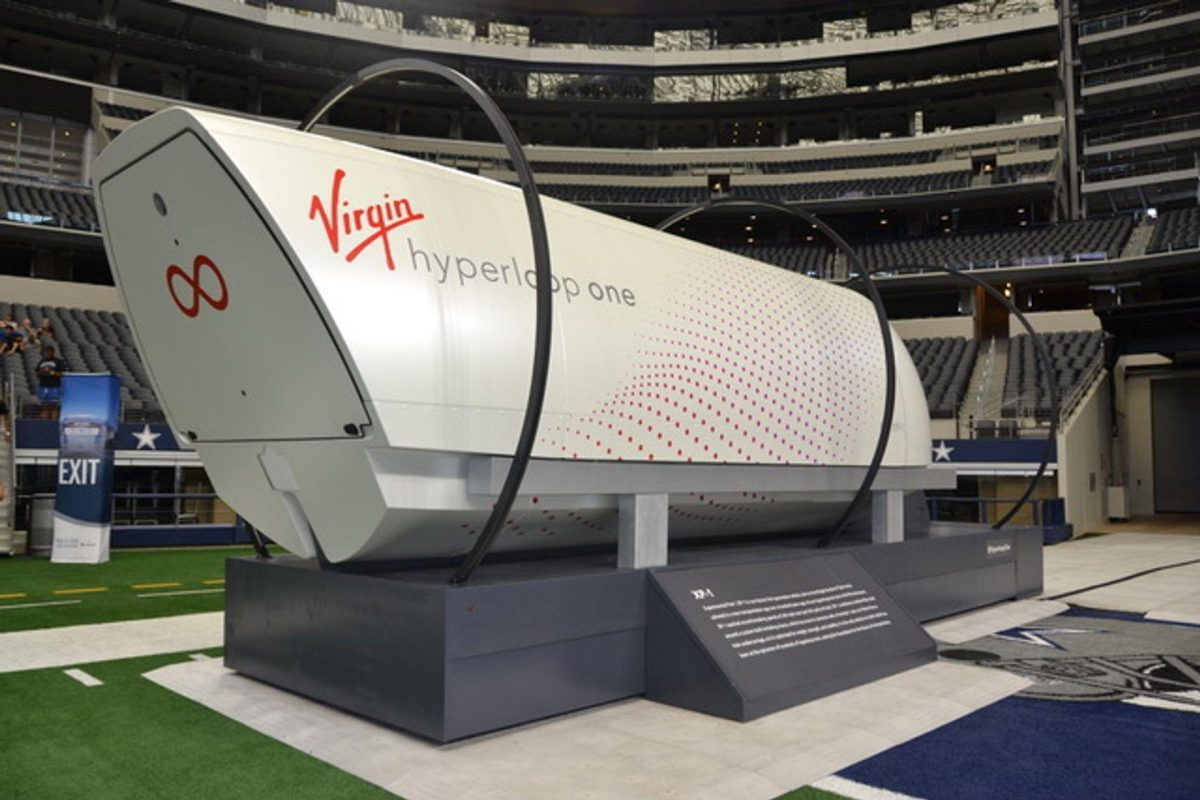 Virgin's High Speed Hyperloop Technology Could Be Coming to North Texas