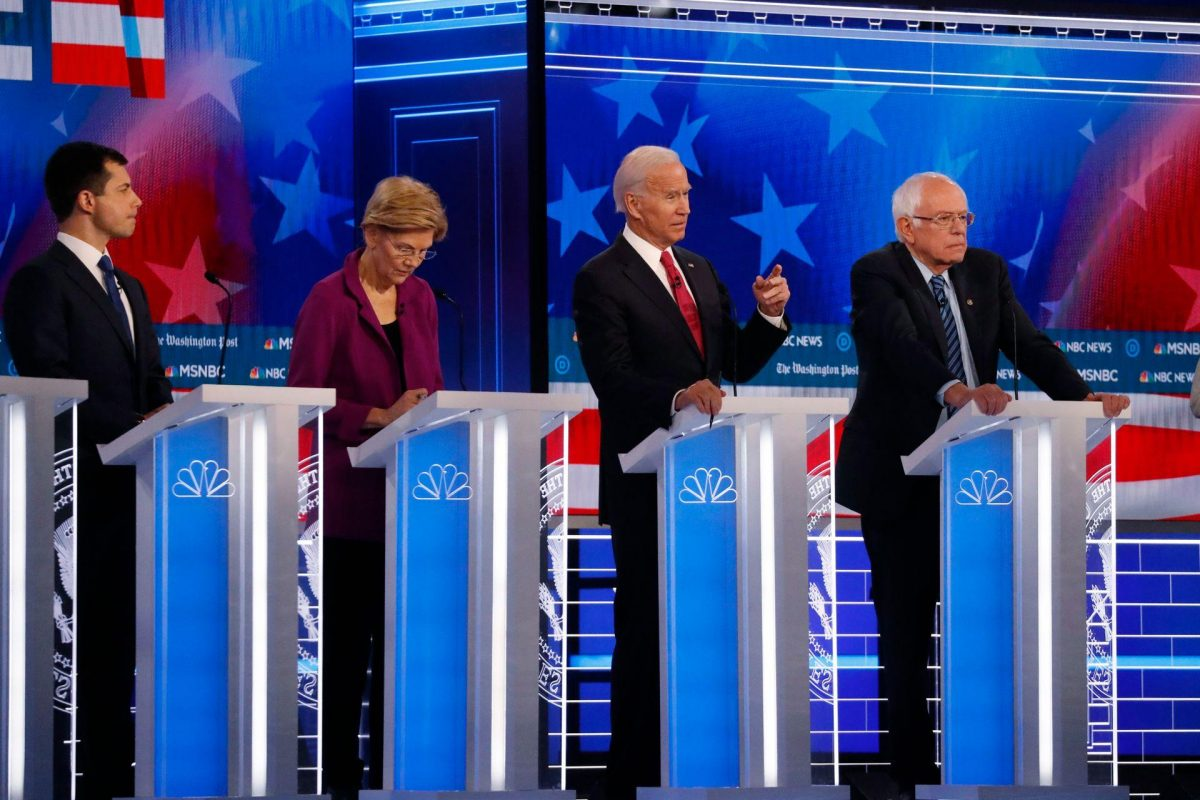 Democrat Presidential Contenders Clash at Debate, Biden Says Would Sacrifice Hundreds of Thousands of Oil and Gas Jobs