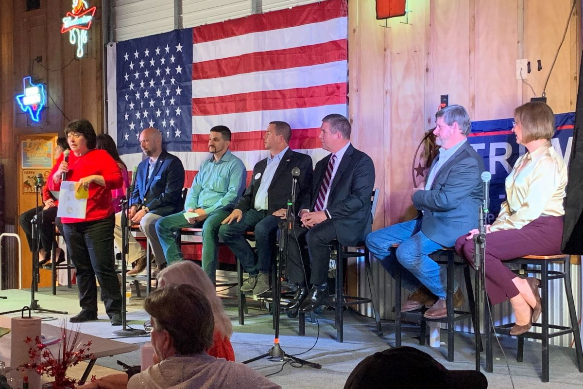 College Station GOP Forum Brings Candidates and Voters Together to Discuss Immigration, Spending, and Healthcare