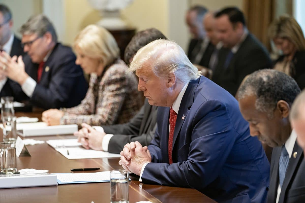 Trump Announces Revised Guidance on Prayer and Religious Expression in Public Schools