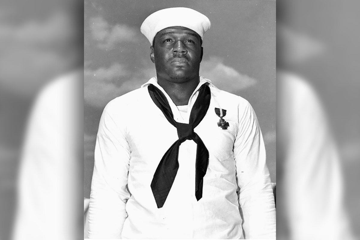 U.S. Navy Names Aircraft after Texan, First African-American to Receive Navy Cross