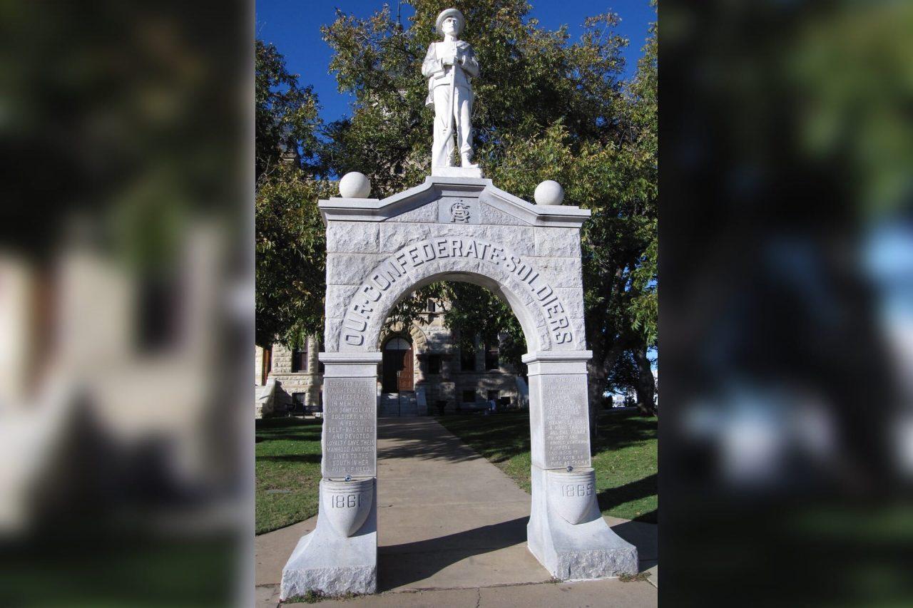 https://thetexan.news/wp-content/uploads/2020/06/Denton-County-Confederate-Monument-1280x853.jpg