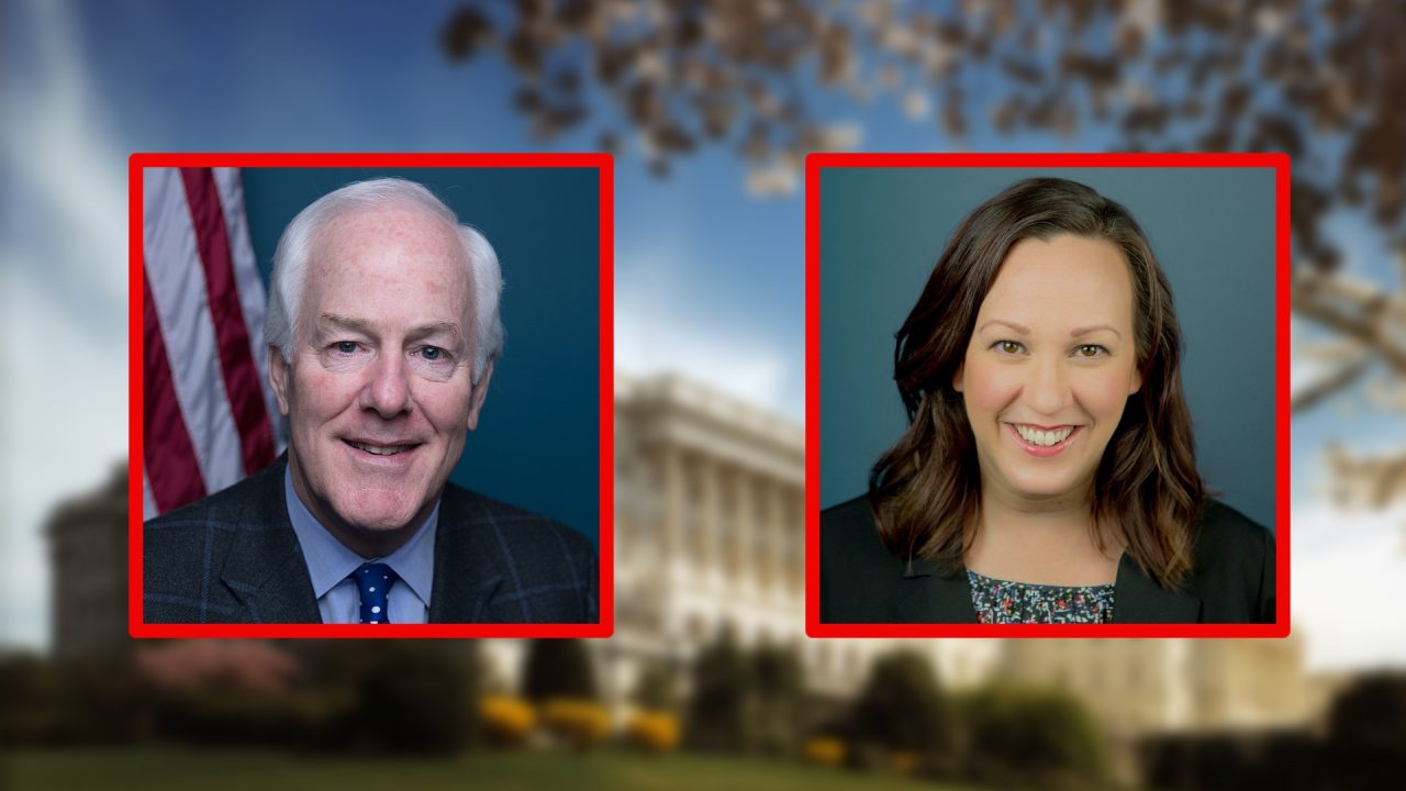https://thetexan.news/wp-content/uploads/2020/07/Cornyn-and-Hegar-1280x720.jpg
