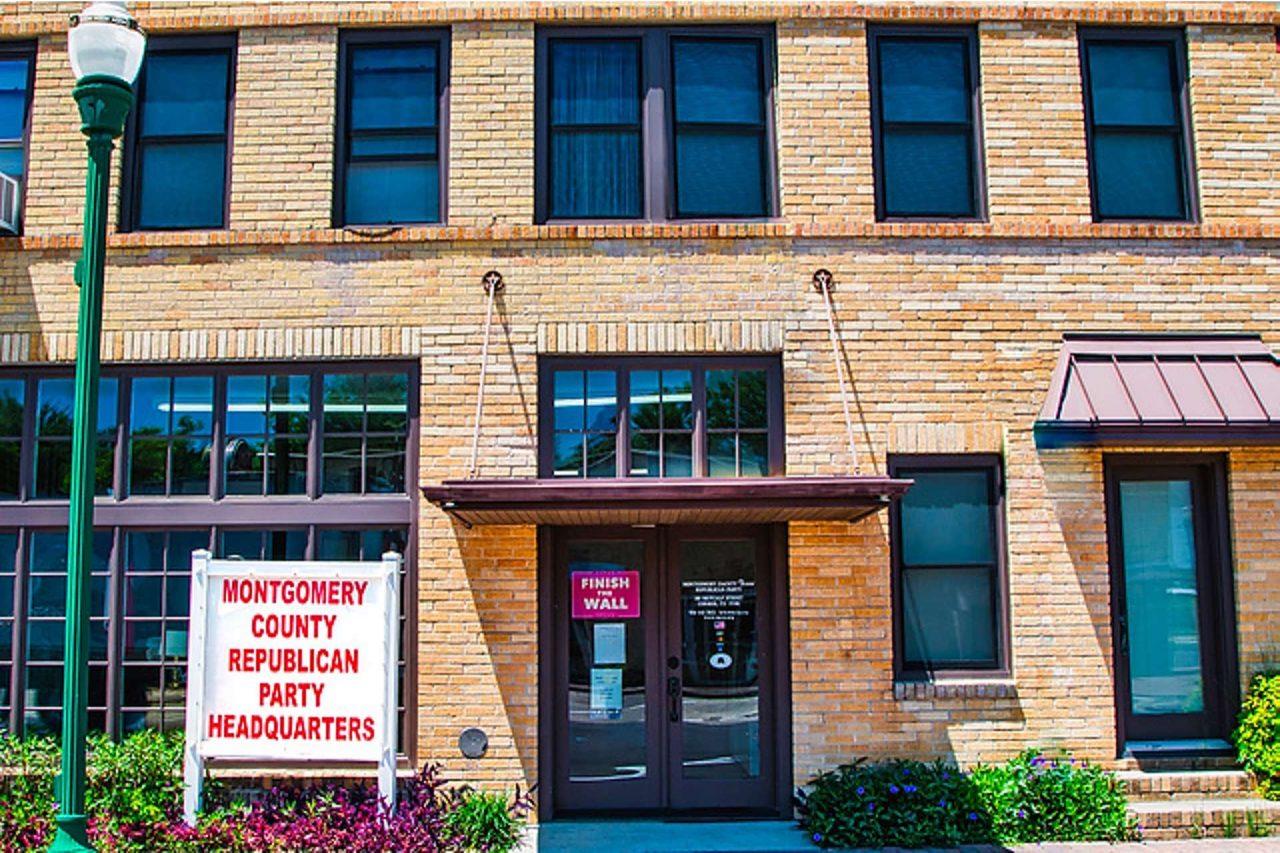 https://thetexan.news/wp-content/uploads/2020/07/Montgomery-County-GOP-Headquarters-1280x853.jpg