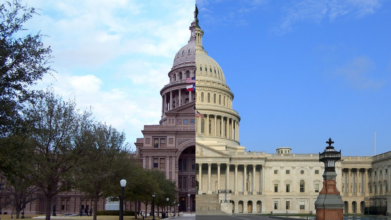 https://thetexan.news/wp-content/uploads/2020/07/Texas-and-US-Capitol-1-1280x720.jpg