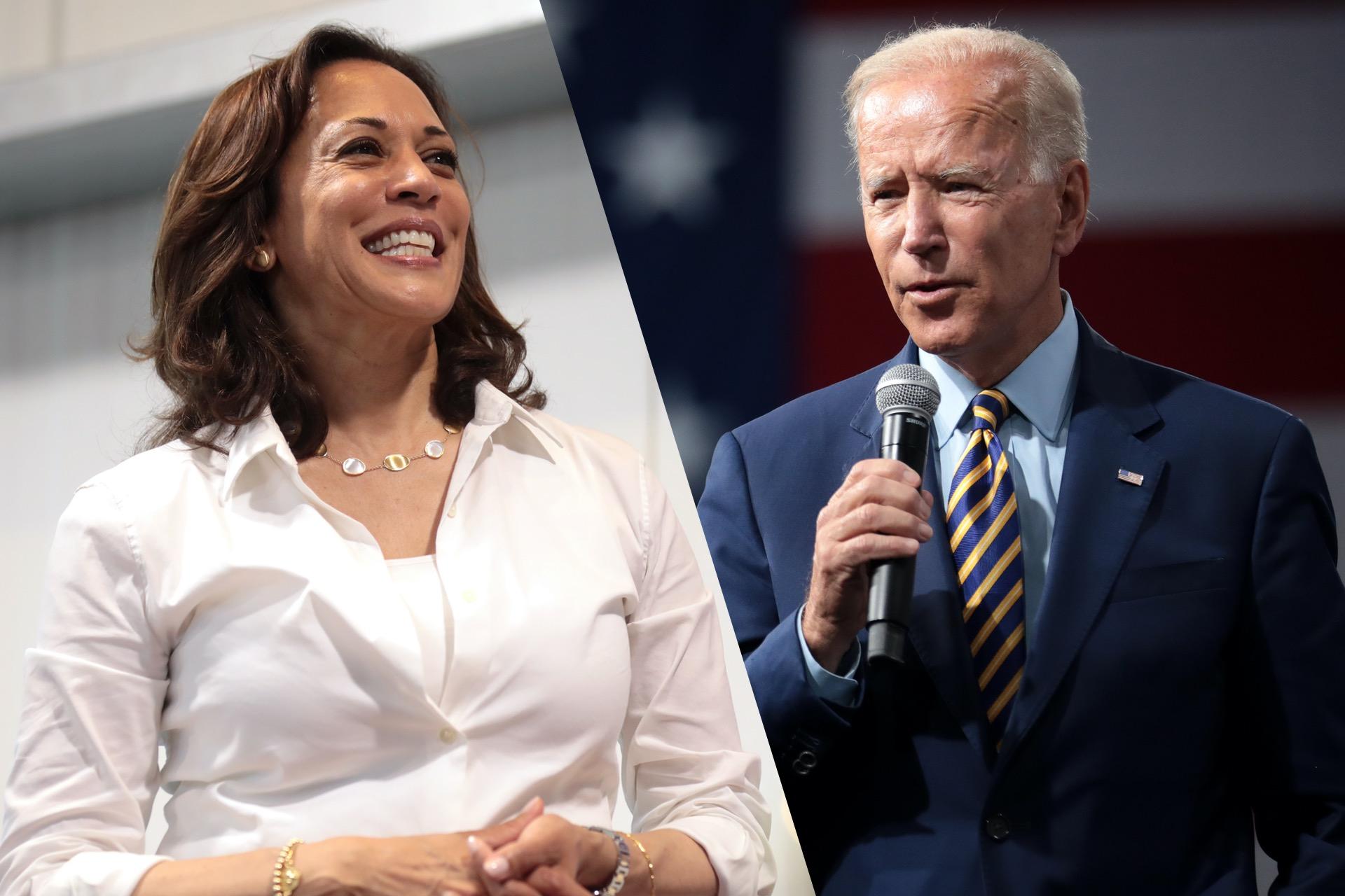 Bidens choice of Kamala Harris as VP candidate