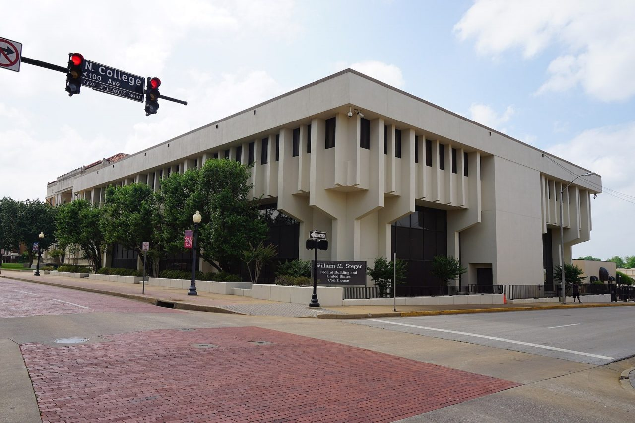 https://thetexan.news/wp-content/uploads/2020/08/Tyler_May_2016_45_William_M._Steger_Federal_Building_and_United_States_Courthouse-1280x853.jpg