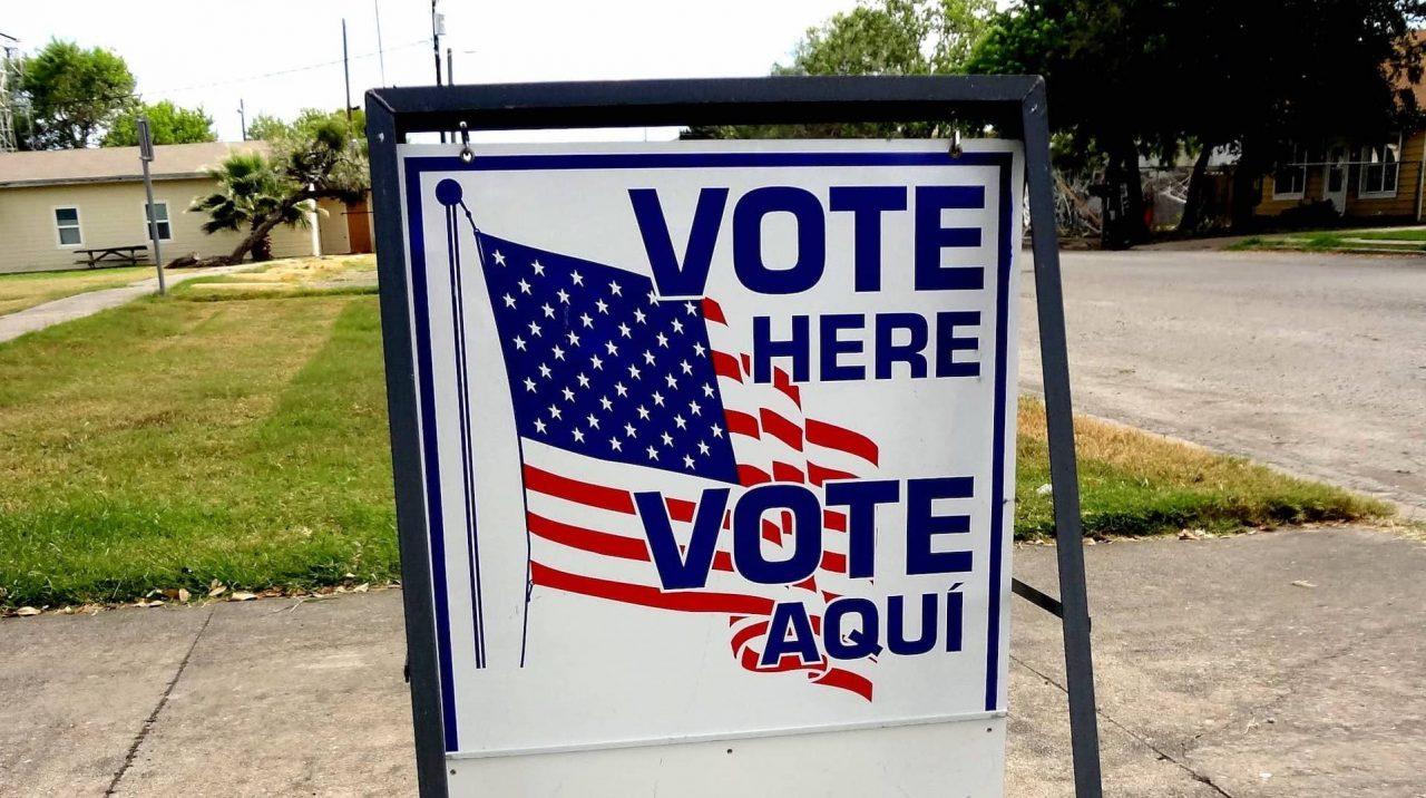 https://thetexan.news/wp-content/uploads/2020/09/vote-here-sign-texas-min-1-1280x716.jpg