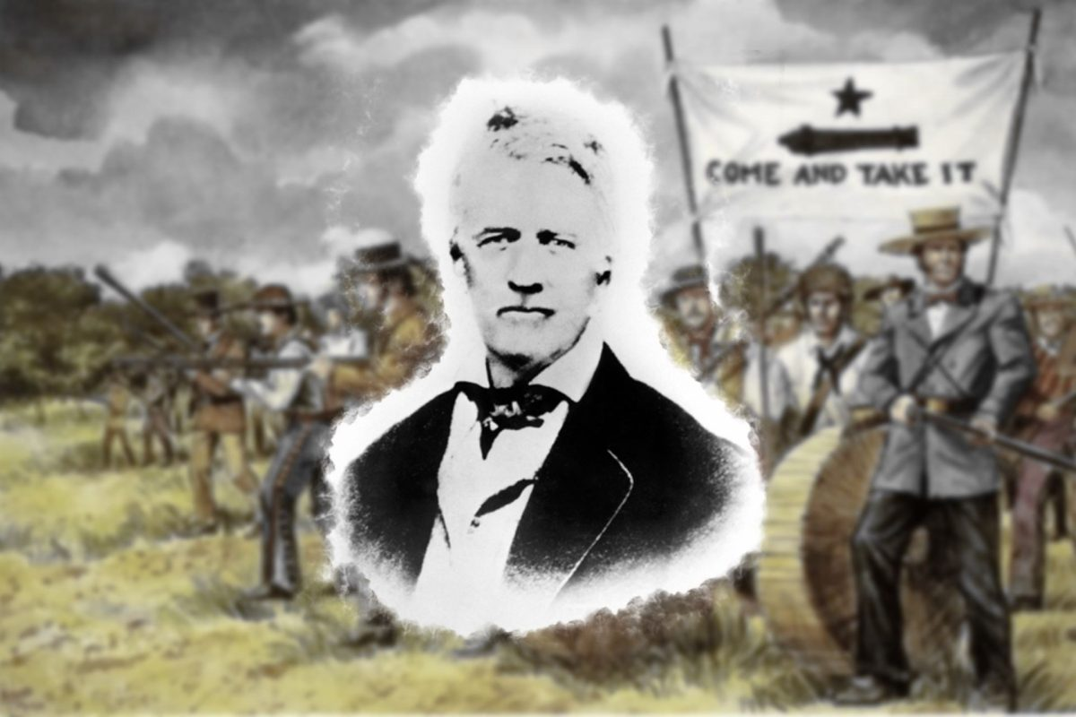 Today in Texas History: John Henry Moore Leads Texian Militia at Battle of Gonzales