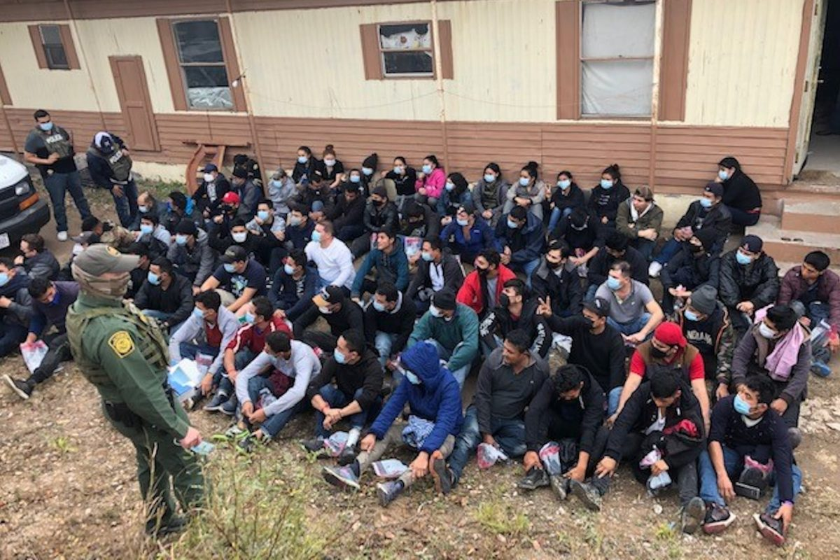 Border Patrol Finds 71 Illegal Immigrants Living in a Trailer in South Texas