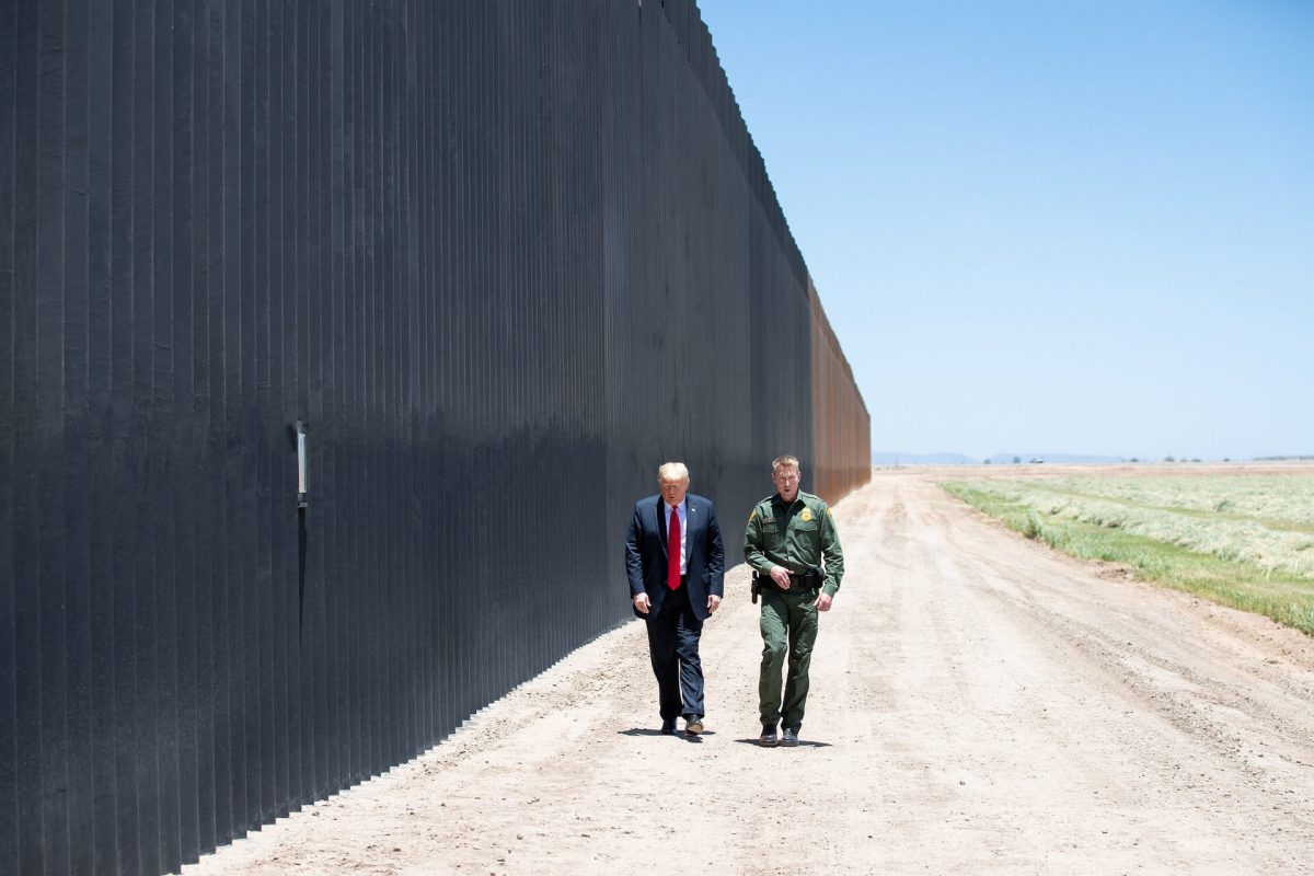 Trump Says 'We Can't Let' Biden Admin 'Even Think About' Deconstructing Border Wall During Texas Visit