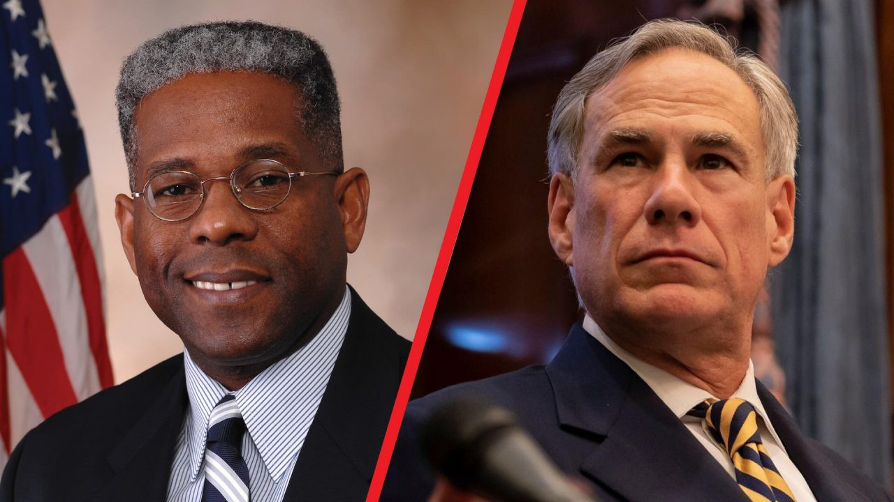 https://thetexan.news/wp-content/uploads/2021/03/Allen-West-Greg-Abbott-1280x720.jpg