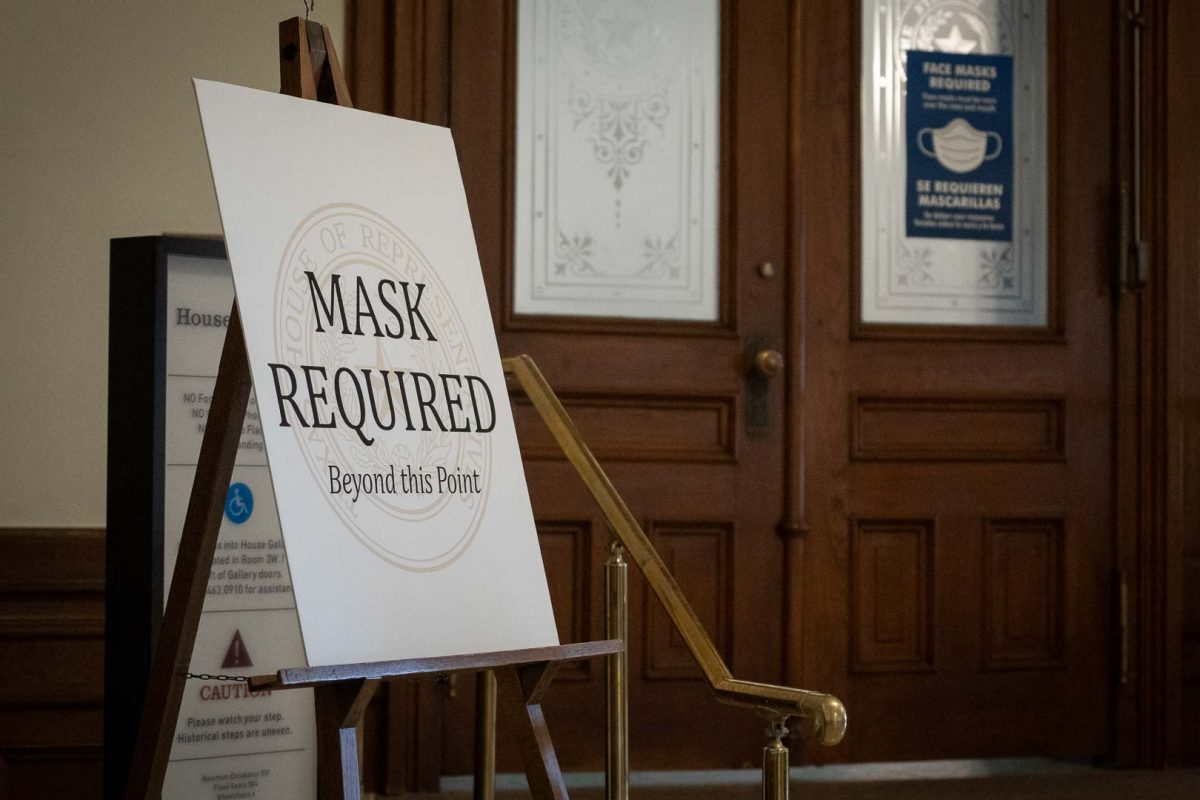 Texas House Administration Committee Votes to End Mask Requirement