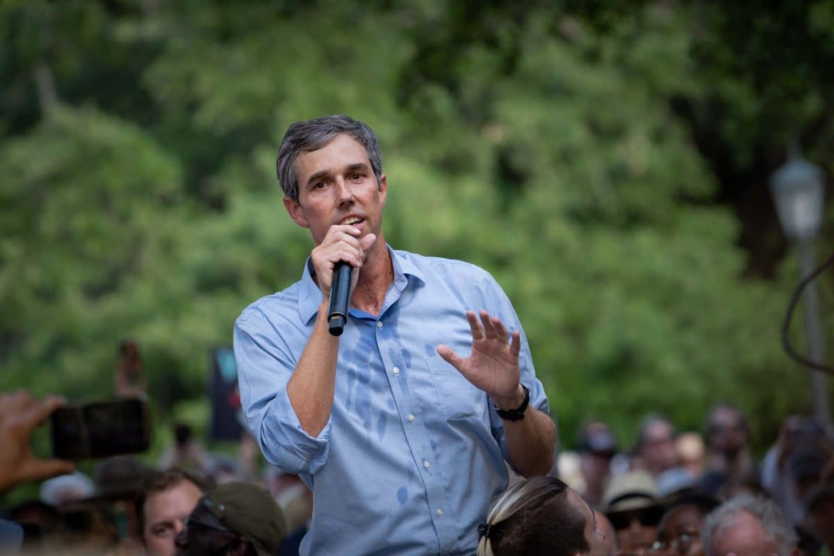 Beto O'Rourke Nearing Campaign for Texas Governor