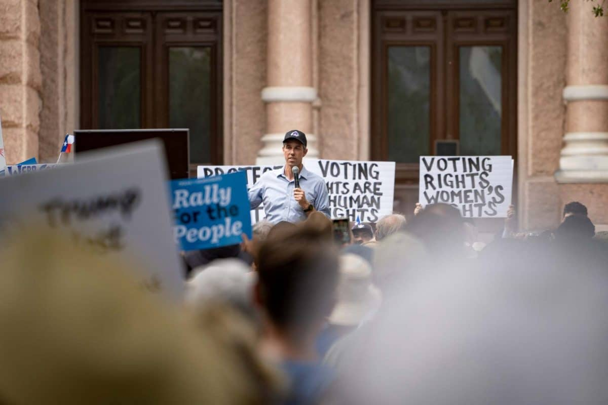O'Rourke, Democrats Rally Against GOP Election Bill as Lawmakers Gear up for Round Two
