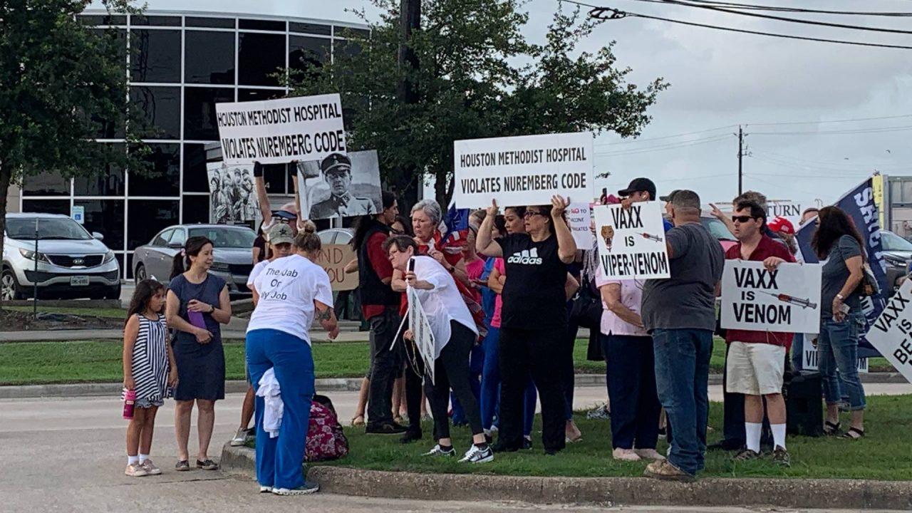 https://thetexan.news/wp-content/uploads/2021/06/Houston-Methodist-Hospital-Employee-Vaccine-Mandate-Walkout-Protest-HH-1280x720.jpg