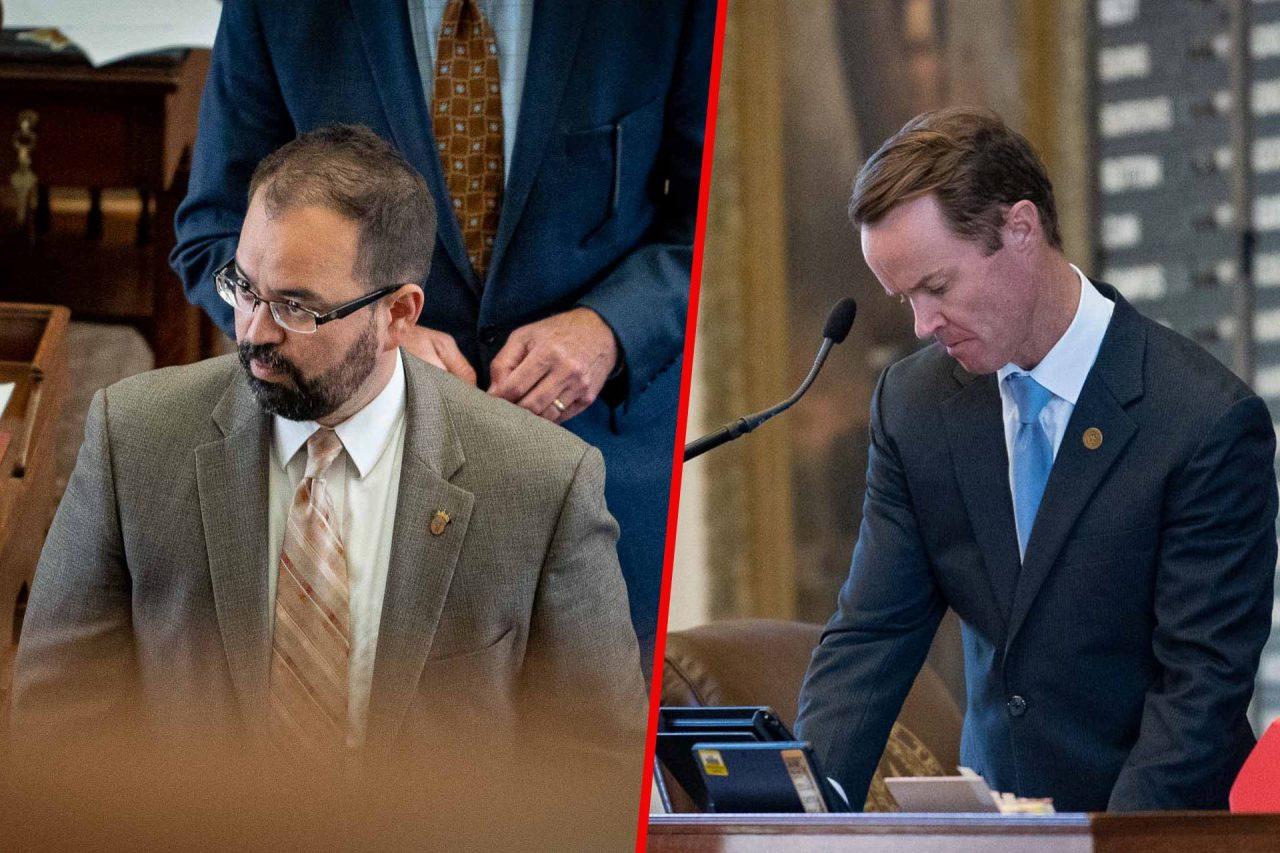 https://thetexan.news/wp-content/uploads/2021/07/Dade-Phelan-and-Joe-Moody-House-Speaker-Pro-Tempore-1280x853.jpg