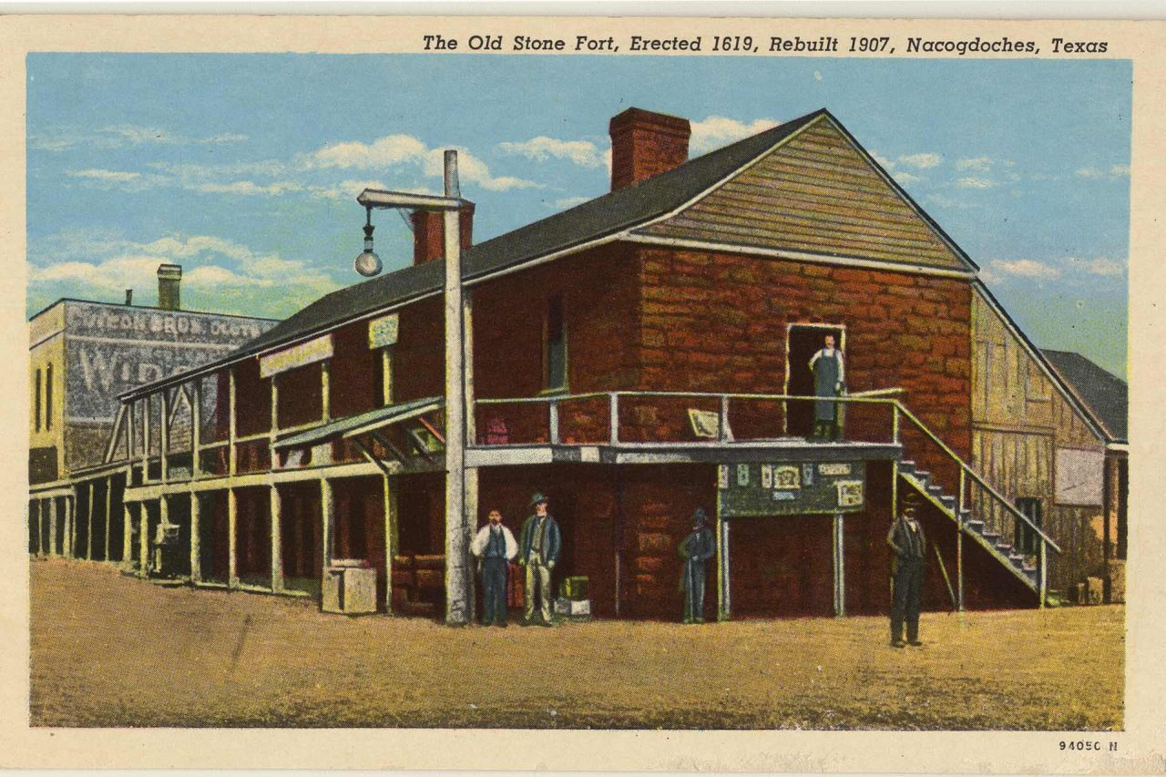 https://thetexan.news/wp-content/uploads/2021/08/The-Old-Stone-Fort-Nacogdoches-Postcard-History-Battle-1280x853.jpg