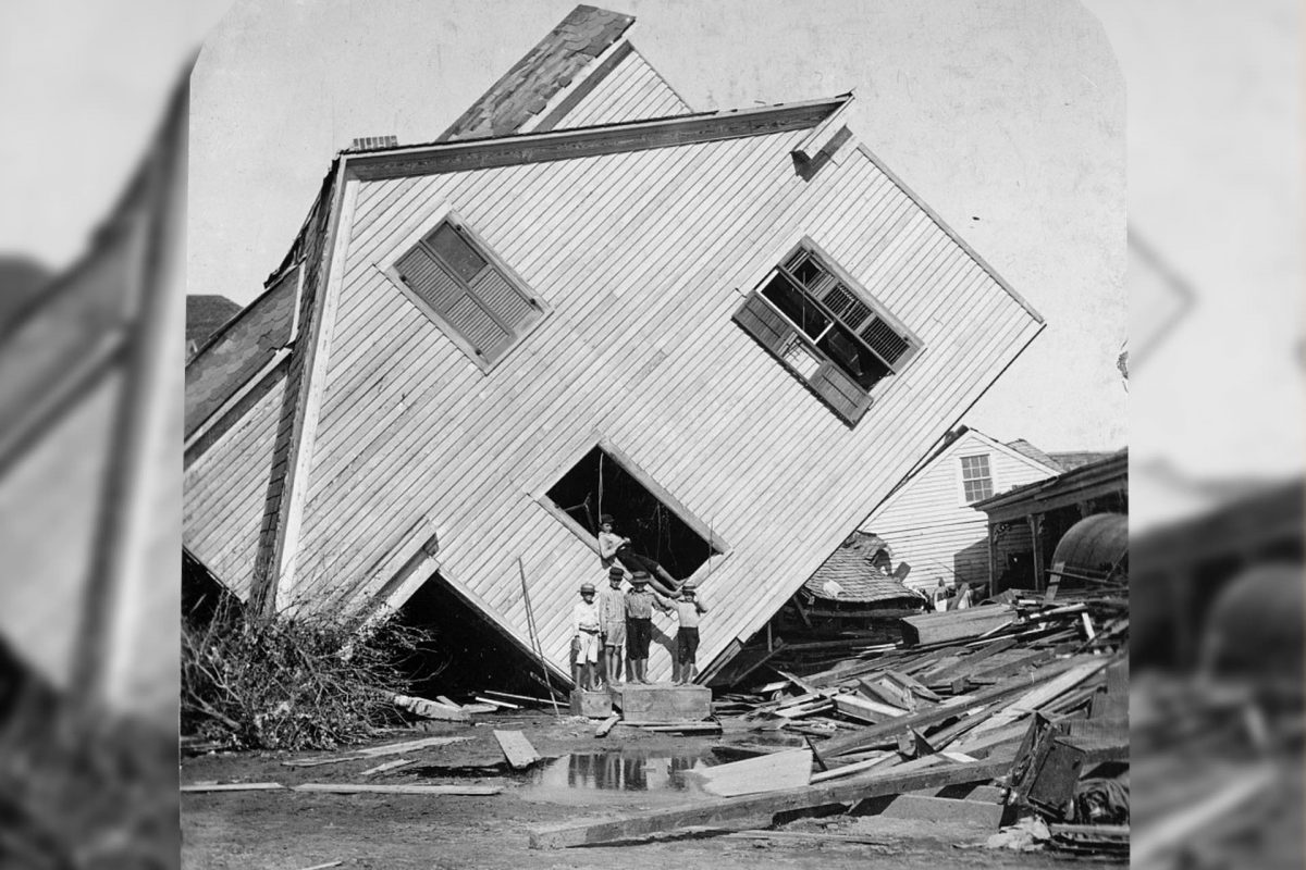 Today in Texas History: 1900 Hurricane Ravages Galveston