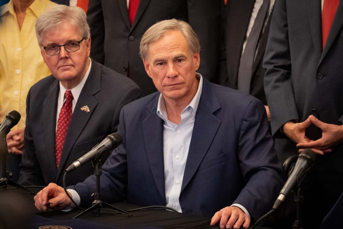At Bail Reform Bill Signing, Abbott and Patrick Lay Blame with 'Socialist' Harris County Judges