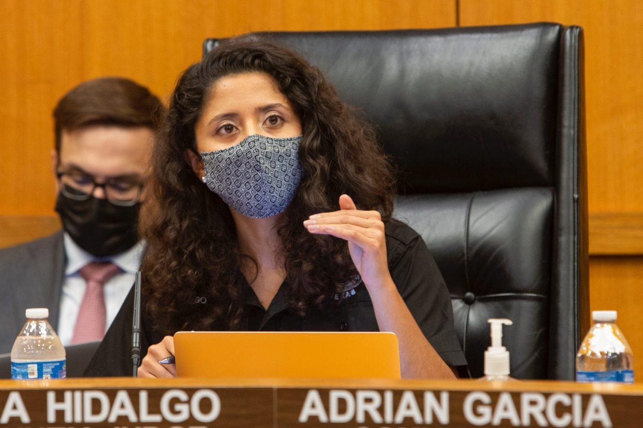https://thetexan.news/wp-content/uploads/2021/09/Harris-County-Judge-Lina-Hidalgo-at-Commissioners-Court-VW-1280x853.jpg