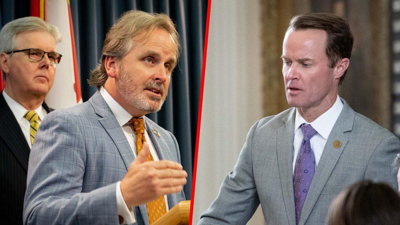 https://thetexan.news/wp-content/uploads/2021/10/Bryan-Hughes-Dade-Phelan-Dan-Patrick-Election-Illegal-Voting-Penalty-Bill-DF-1280x720.jpg