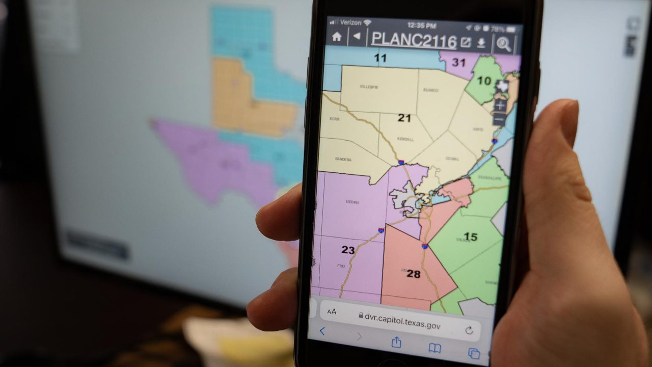 https://thetexan.news/wp-content/uploads/2021/10/Texas-Senae-Congressional-Redisricting-Map-DF-1280x720.jpg